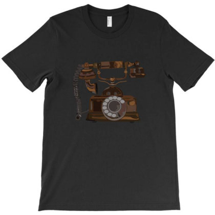 Vintage Telephone T-shirt Designed By Su_rreal