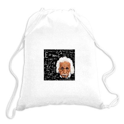 Albert Einstein Drawstring Bags Designed By Arjun's Art