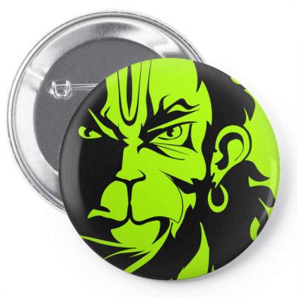 Hanuman Goddess Art Pin-back Button Designed By Arjun's Art