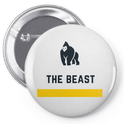 The Beast Design Pin-back Button Designed By The Sleepy Hero
