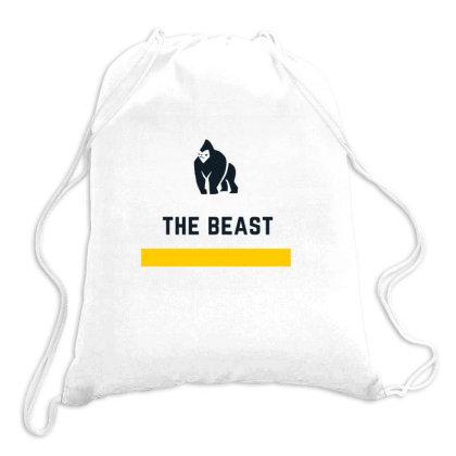 The Beast Design Drawstring Bags Designed By The Sleepy Hero