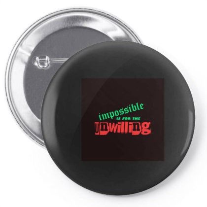 Motivation Tee Pin-back Button Designed By Suju