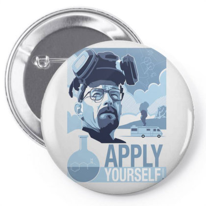 Apply Yourself Pin-back Button Designed By Estore