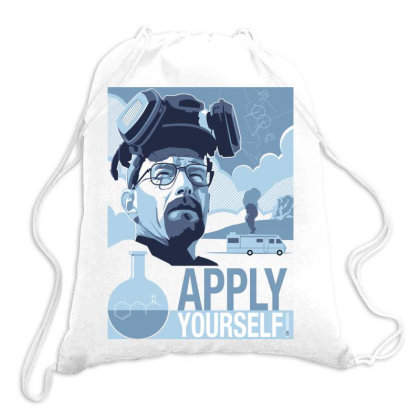 Apply Yourself Drawstring Bags Designed By Estore