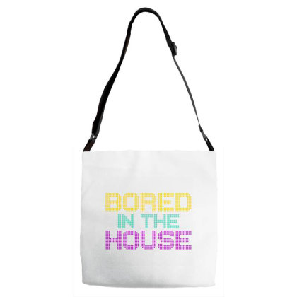 Quarantine Bored In The House Adjustable Strap Totes Designed By Redline77