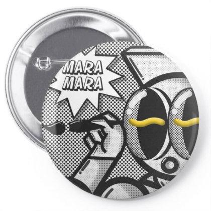 Mara Mara//eyeworm Invasion-eyegasm 08 Archive Pin-back Button Designed By Pokpokcoyz
