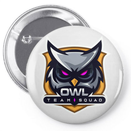 Owl Pin-back Button Designed By Estore