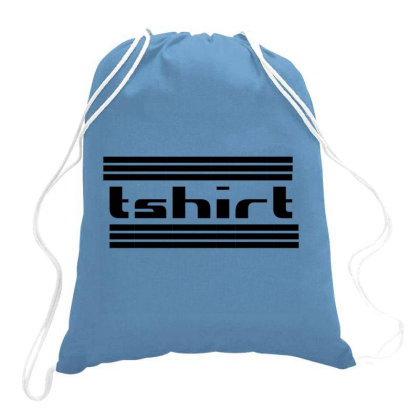 Tshirt Drawstring Bags Designed By Redline77