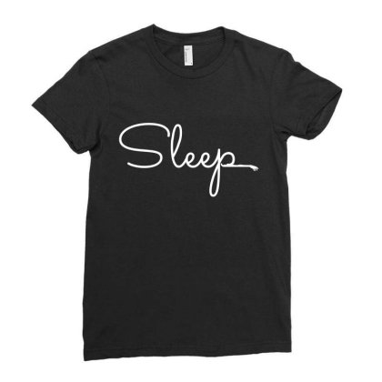 Sleep Ladies Fitted T-shirt Designed By Bestmom