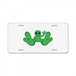 Baby alien License Plate | Artistshot
