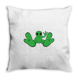 Baby alien Throw Pillow | Artistshot