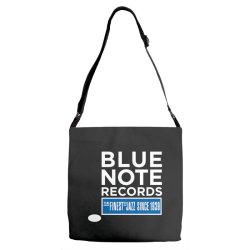 Blue Note Records Label Logo Adjustable Strap Totes   Artistshot