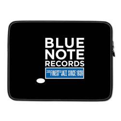 Blue Note Records Label Logo Laptop sleeve   Artistshot
