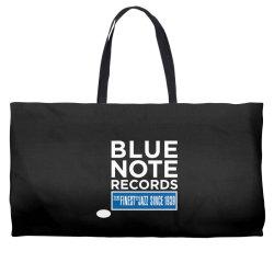 Blue Note Records Label Logo Weekender Totes   Artistshot