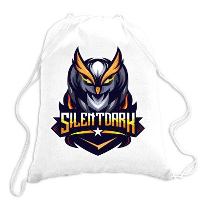 Silent Dark Owl Drawstring Bags Designed By Estore