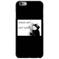Make Art Not War iPhone 6/6s Case   Artistshot