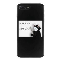 Make Art Not War iPhone 7 Plus Case   Artistshot