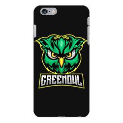 Green owl iPhone 6 Plus/6s Plus Case   Artistshot