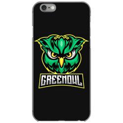 Green owl iPhone 6/6s Case   Artistshot