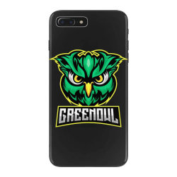 Green owl iPhone 7 Plus Case   Artistshot