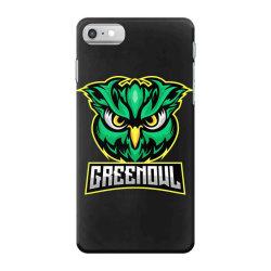 Green owl iPhone 7 Case   Artistshot