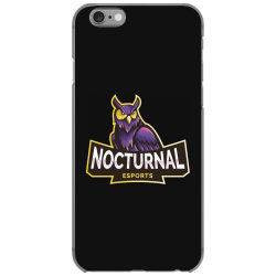 Nocturnal esports owl iPhone 6/6s Case | Artistshot