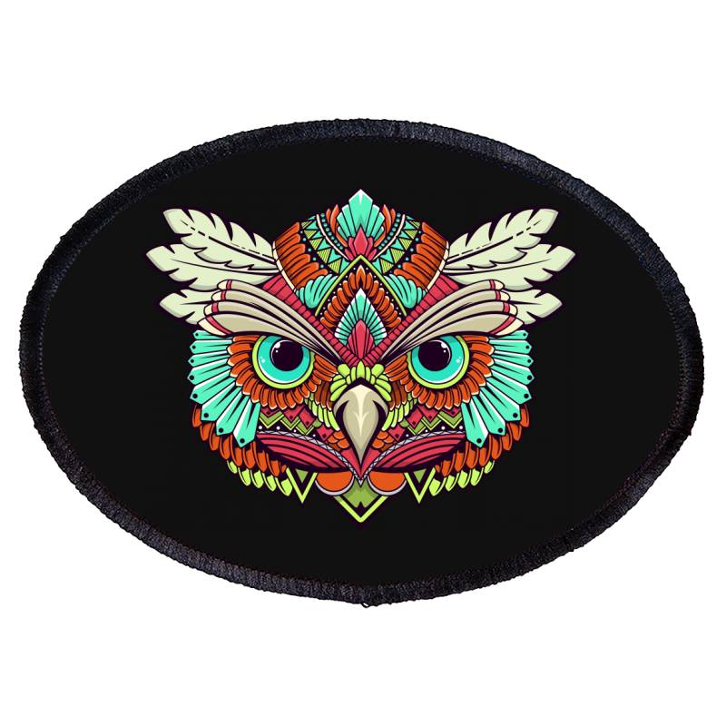 Owl Oval Patch | Artistshot