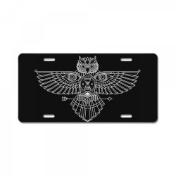 OWL License Plate | Artistshot