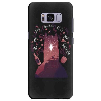 You Were Born Broken Samsung Galaxy S8 Plus Case Designed By Alespedy