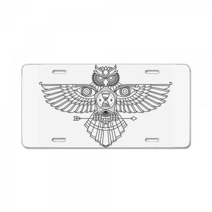Owl License Plate Designed By Estore
