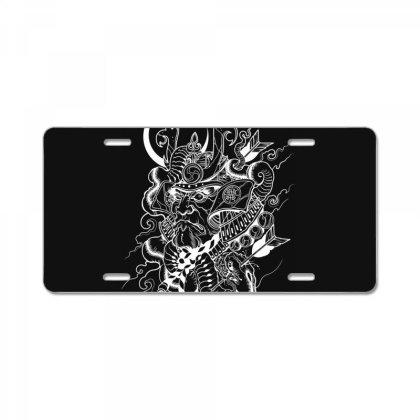 Skull License Plate Designed By Estore