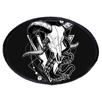 Zodiac: Aries Oval Patch Designed By Von Kowen