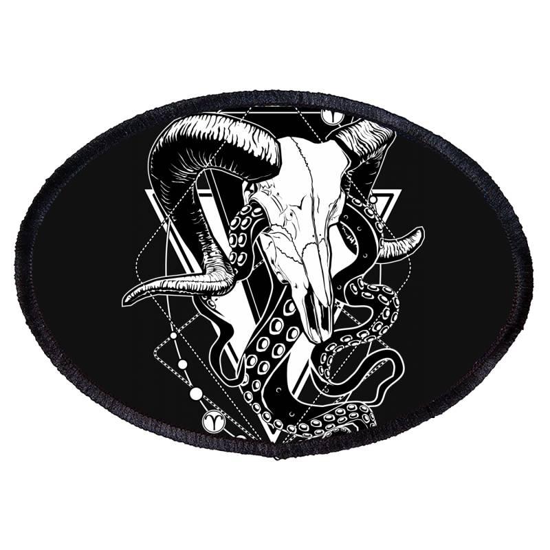 Zodiac: Aries Oval Patch | Artistshot