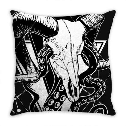 Zodiac: Aries Throw Pillow Designed By Von Kowen