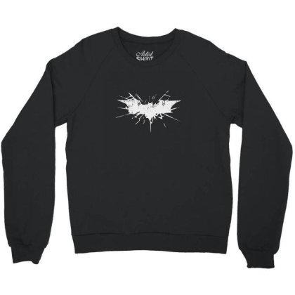 The Broken Sign Of Batman Crewneck Sweatshirt Designed By Sr88