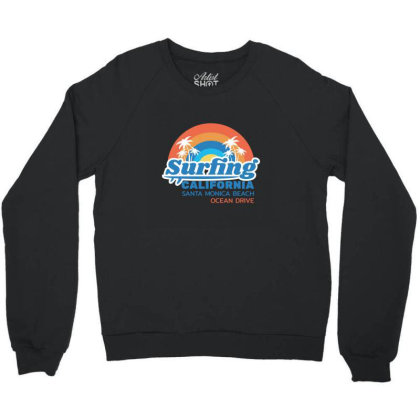 California Crewneck Sweatshirt Designed By Disgus_thing