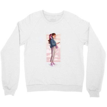 Phone Clouds Crewneck Sweatshirt Designed By Adesignerlife