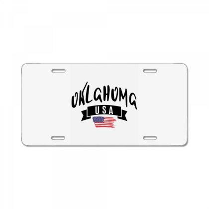 Oklahoma License Plate Designed By Alececonello