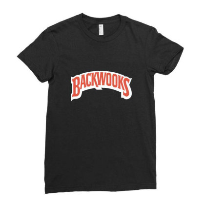 Blackwooks Cigars Ladies Fitted T-shirt Designed By Sr88