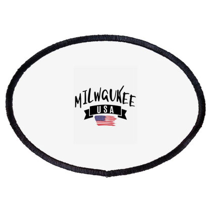 Milwaukee Oval Patch Designed By Alececonello