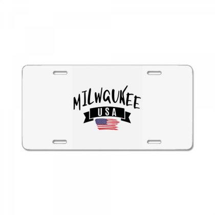 Milwaukee License Plate Designed By Alececonello