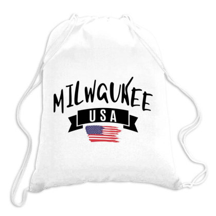 Milwaukee Drawstring Bags Designed By Alececonello