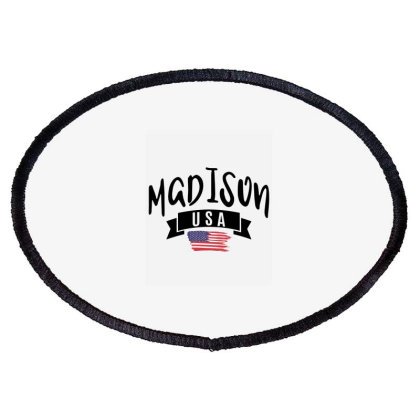 Madison Oval Patch Designed By Alececonello