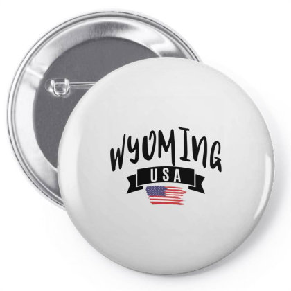 Wyoming Pin-back Button Designed By Alececonello