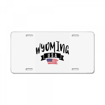 Wyoming License Plate Designed By Alececonello