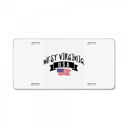 West Virginia License Plate Designed By Alececonello