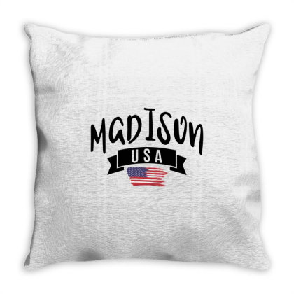 Madison Throw Pillow Designed By Alececonello