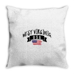 West Virginia Throw Pillow | Artistshot