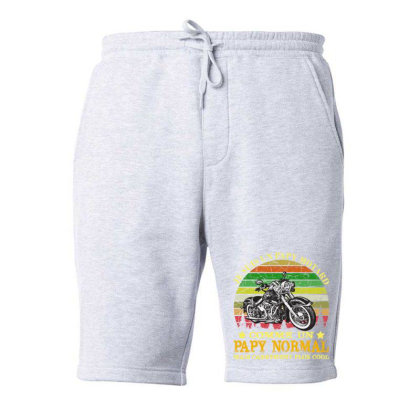 Papy Motard Fleece Short Designed By Redline77