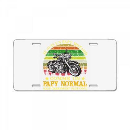 Papy Motard License Plate Designed By Redline77